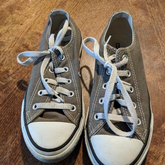 Converse Other - Kids Grey Converse size 1 d06b0d62d